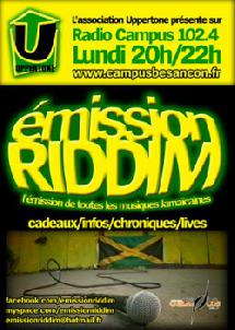 Emission de radio: Riddim