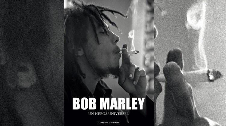 Bob Marley un héros universel, le livre