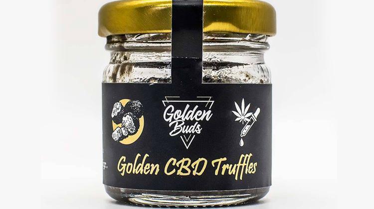 Truffes au CBD chez Golden Buds