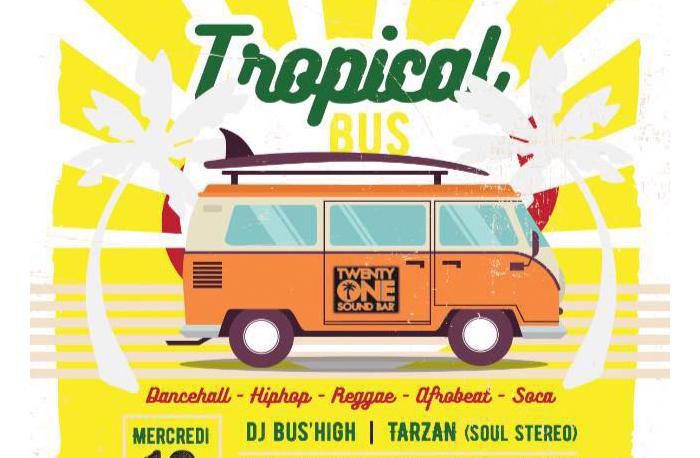 Dj Bus High Tropical Bus Mix Live #22