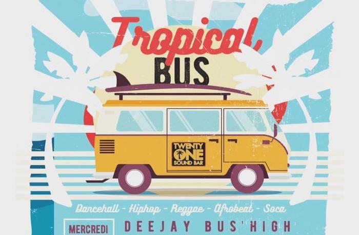Dj Bus High Tropical Bus Mix Live #23