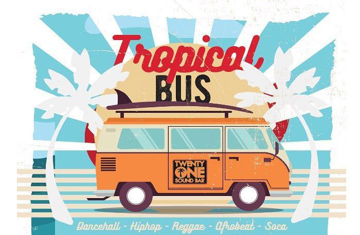 Dj Bus High Tropical Bus Mix Live #27