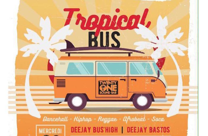 Dj Bus High Tropical Bus Mix Live #28