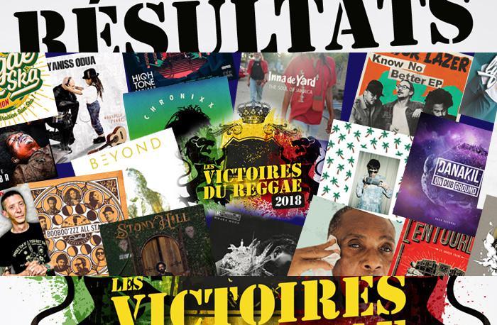 Les Résultats des Victoires du Reggae