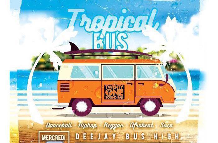 Dj Bus High Tropical Bus Mix Live #30