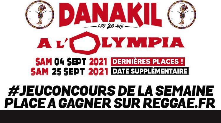 Danakil à l'Olympia le 25 septembre