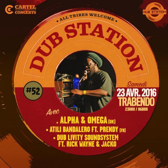 Paris Dub Station #52 le 23 avril