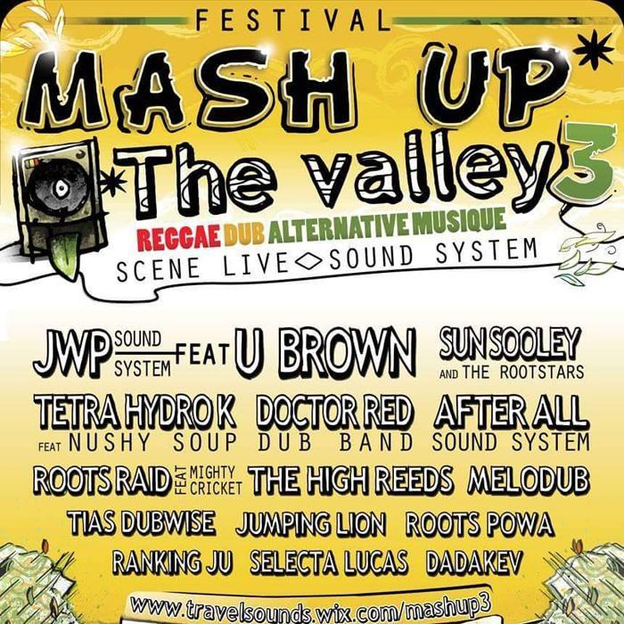 Festival Mash Up The Valley dans le Gard