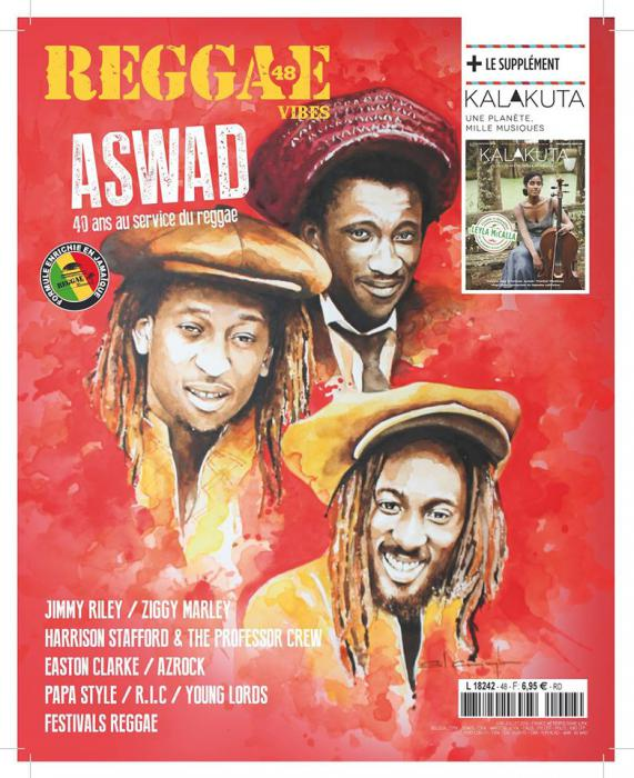Reggae Vibes #48 en kiosques