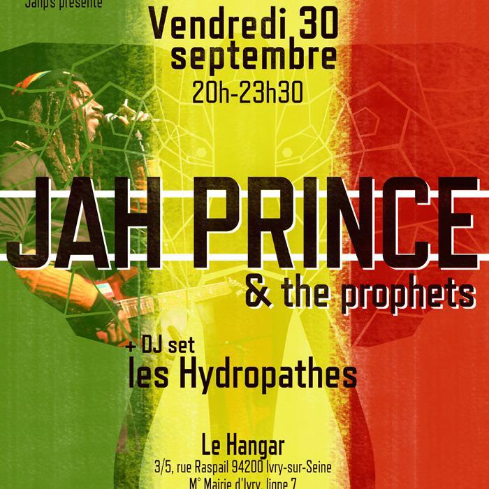 Jah Prince en concert à Ivry le 30 septembre