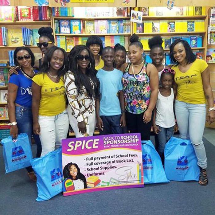 Spice aide les écoliers !