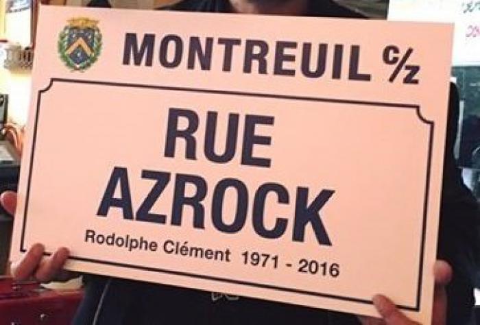 Une rue Azrock à Montreuil ?
