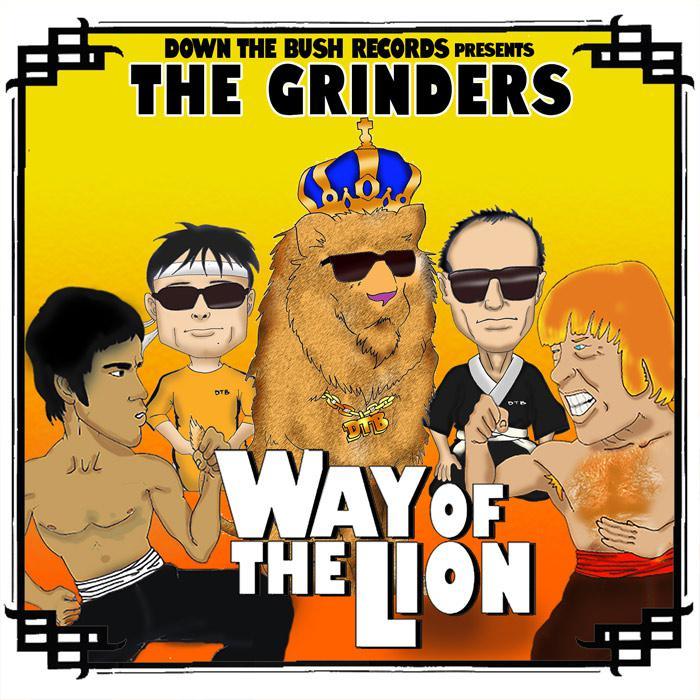 The Grinders nouvel album 'Way of the Lion'
