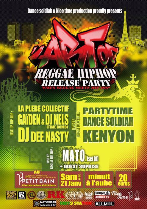 Dance Soldiah : release party à Paris