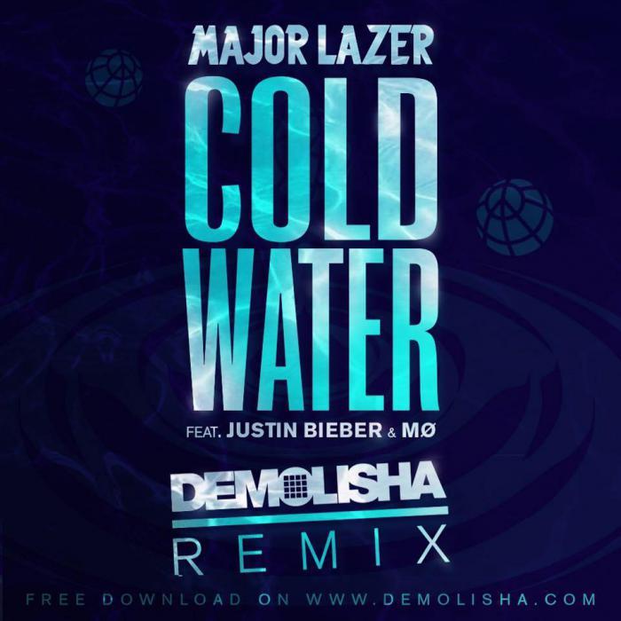 Demolisha remix 'Cold Water' de Major Lazer