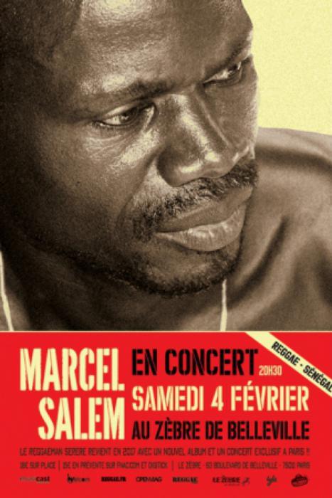 Marcel Salem à Paris : places à gagner