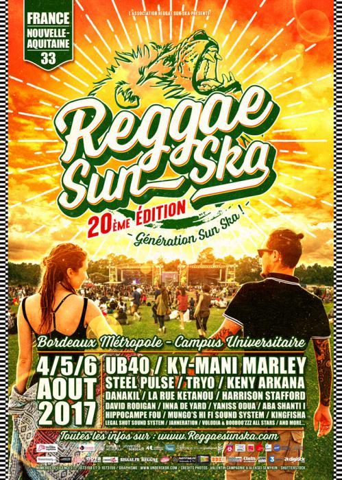 Les premiers noms du Reggae Sun Ska