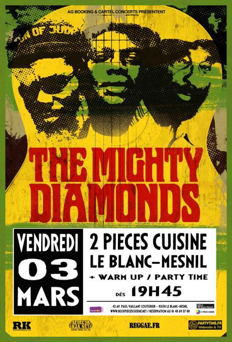 Les Mighty Diamonds au Blanc-Mesnil le 3 mars
