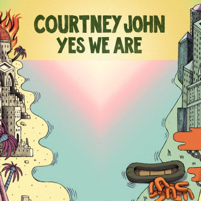 Courtney John : 'Yes We Are' le single