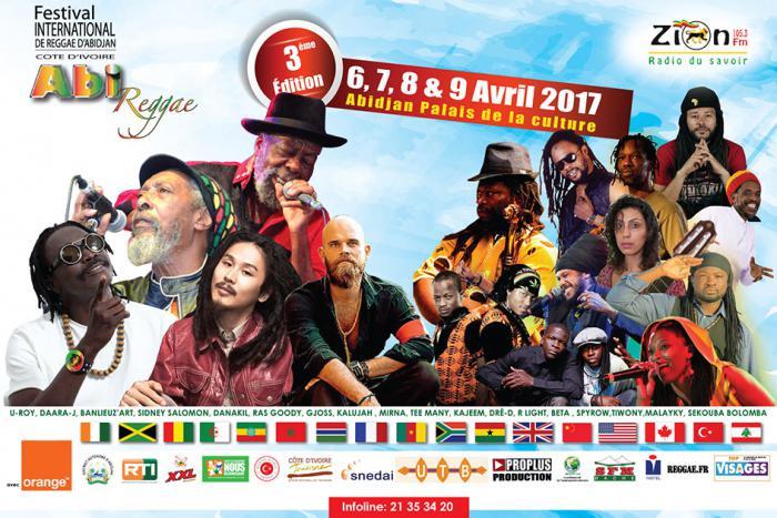 Abi Reggae Festival en avril en Côte d'Ivoire