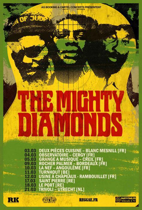 Mighty Diamonds en tournée : places à gagner