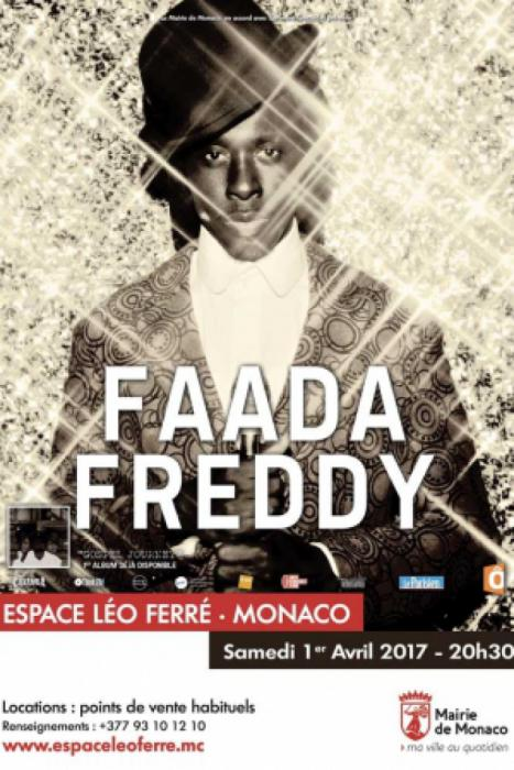 Faada Freddy à Monaco : places à gagner