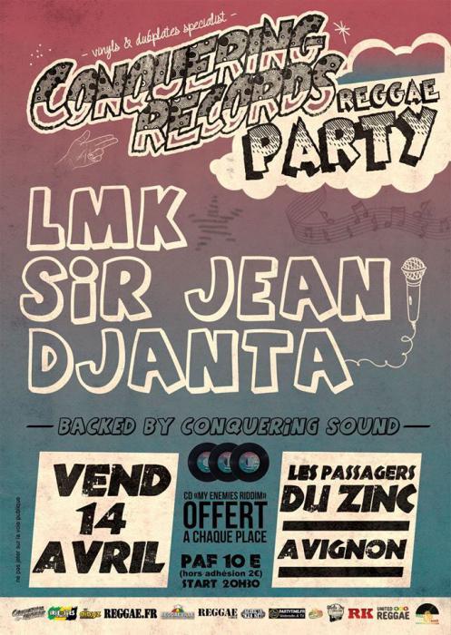 Conquering Records Party à Avignon : places à gagner