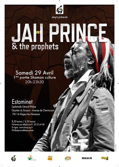 Jah Prince à Magny-les-Hameaux le 29 avril