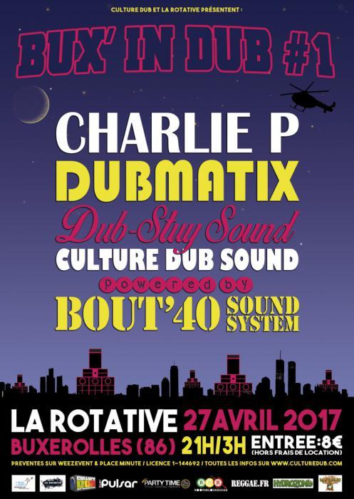 Bux in Dub #1 dans la Vienne le 27 avril