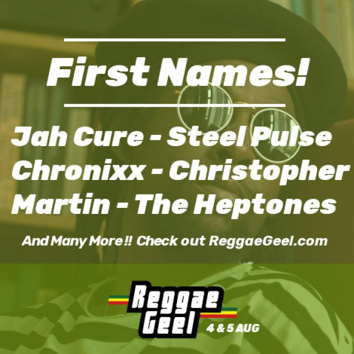 Les premiers noms du Reggae Geel 2017