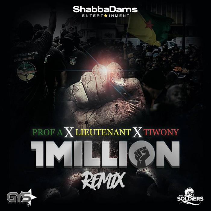 Prof A, Lieutenant & Tiwony 'One Million Remix'