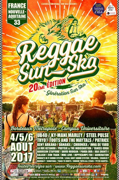 Reggae Sun Ska : la prog complète