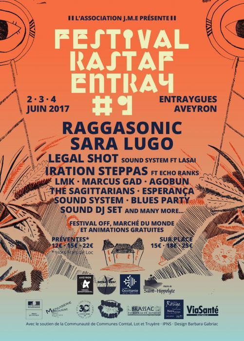 Festival Rastaf'Entray #9 dans l'Aveyron