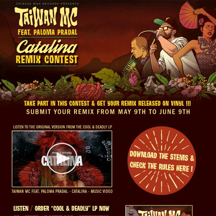 Taiwan MC : concours de remix