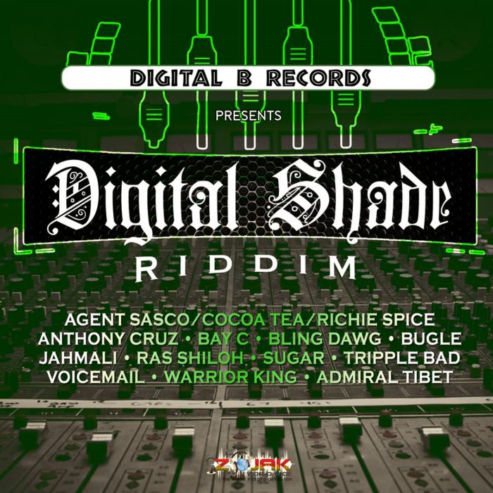 Digital Shade Riddim chez Digital B