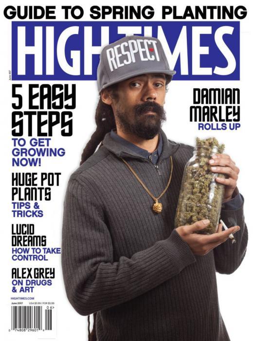 Damian Marley rachète un magazine de weed