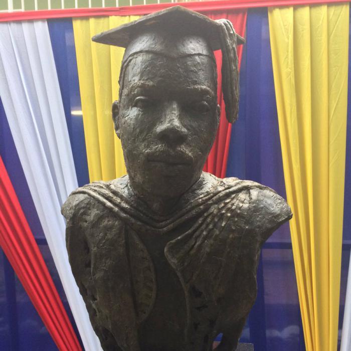 Polémique autour d'un buste de Marcus Garvey