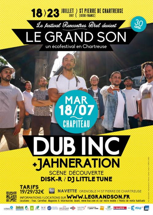 Festival Le Grand Son en Isère