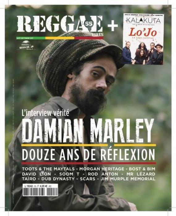 Reggae Vibes #55 en kiosque