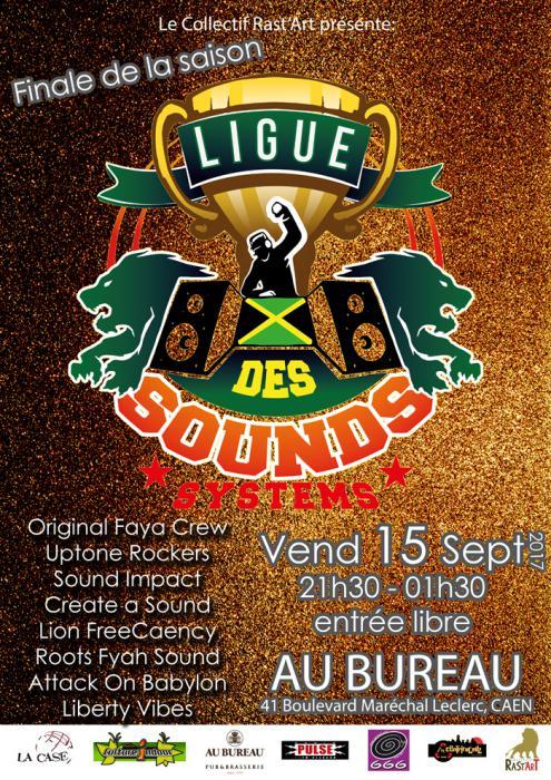 La ligue des sounds : la finale à Caen