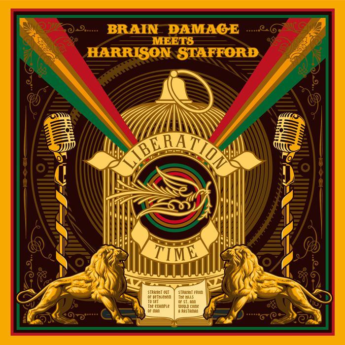 Brain Damage meets Harrison Stafford : l'album