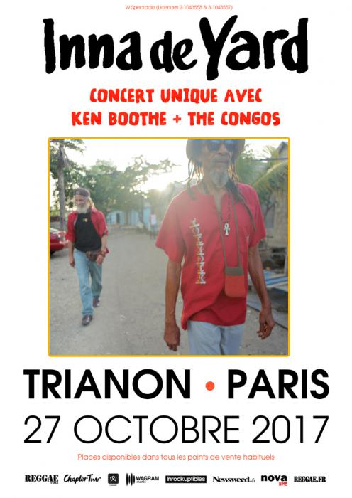 Inna De Yard en tournée et avec Ken Boothe à Paris