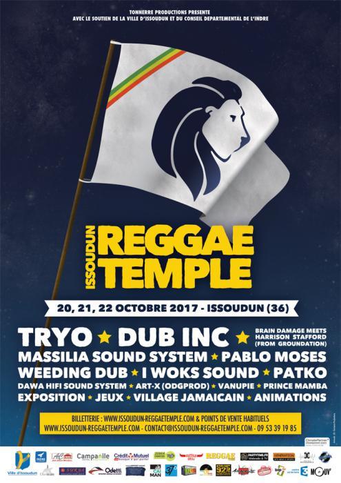 Issoudun Reggae Temple en octobre