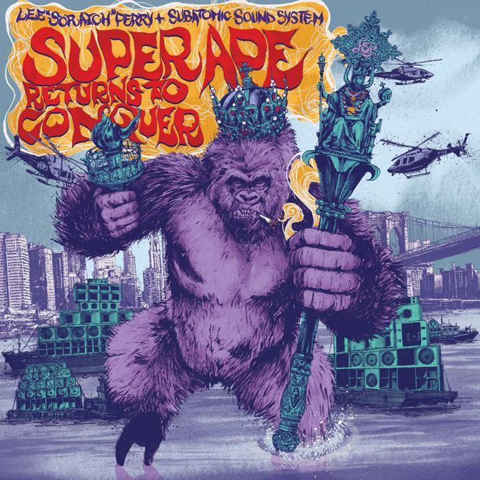 Lee Perry revisite l'album 'Super Ape'