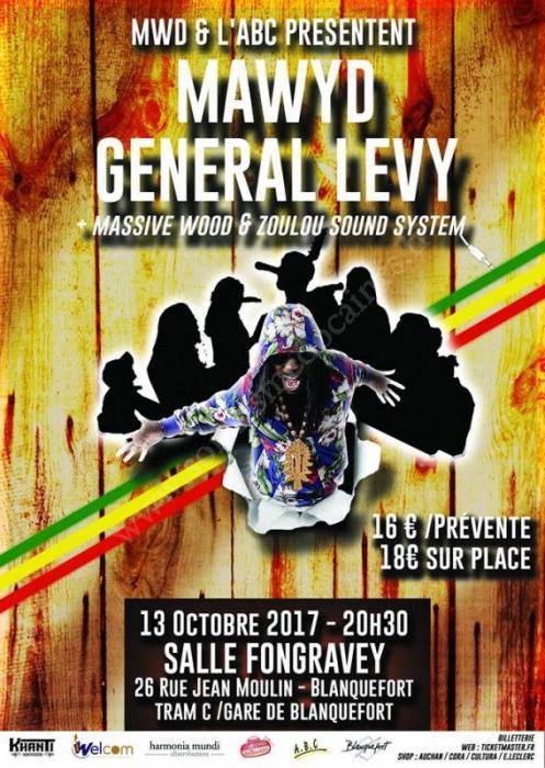 Mawyd & General Levy à Bordeaux : places à gagner