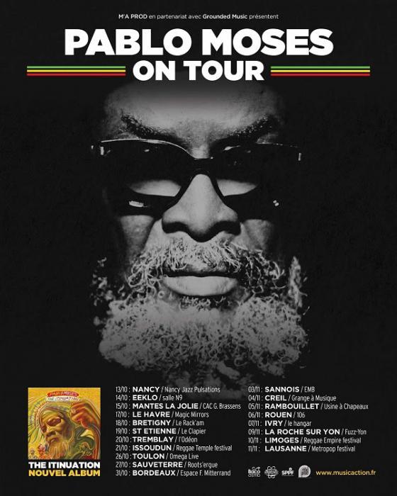Pablo Moses en tournée