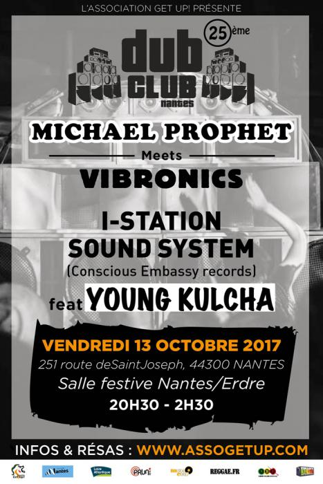 Nantes Dub Club #25 le 13 octobre