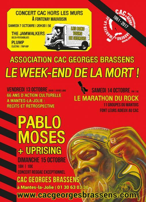 Pablo Moses à Mantes-la-Jolie ce dimanche