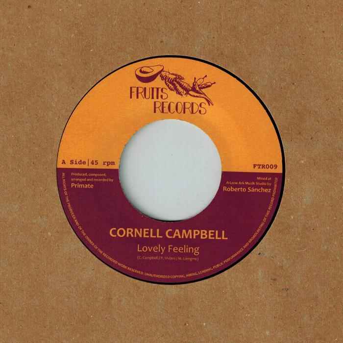 Cornell Campbell : nouveau 45T chez Fruits Records