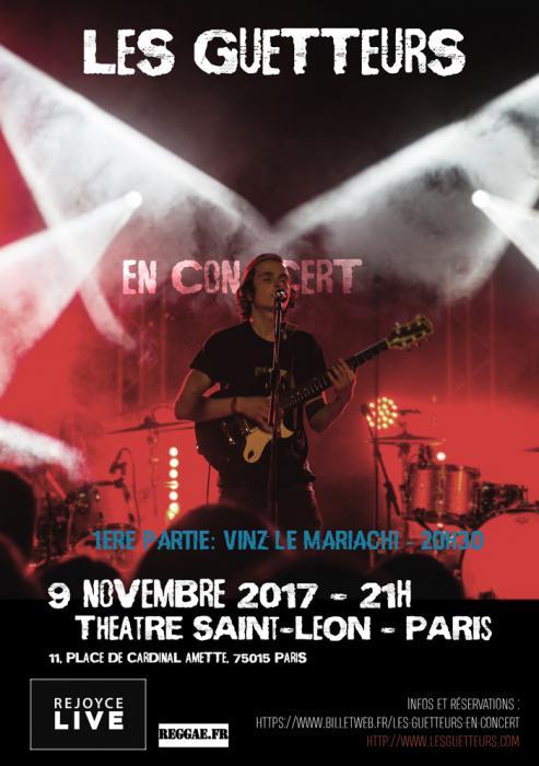 Les Guetteurs en concert à Paris